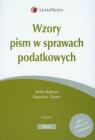 Wzory pism w sprawach podatkowych + płyta CD z wzorami Babiarz Stefan, Dauter Bogusław