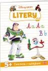 Disney Uczy. Litery. Toy Story. Ćwiczenia z naklejkami