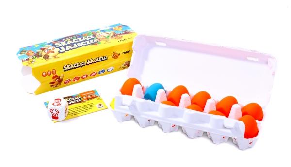 Skaczące jajeczka