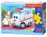 Puzzle konturowe 30: Ambulance Doctor
