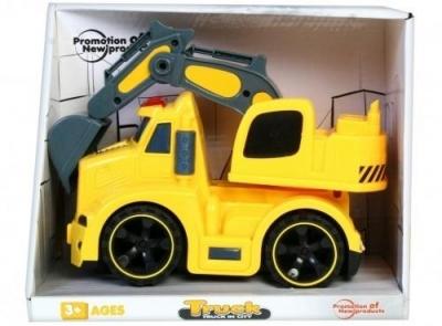 Auto ciężarowe koparka światło/dźwięk