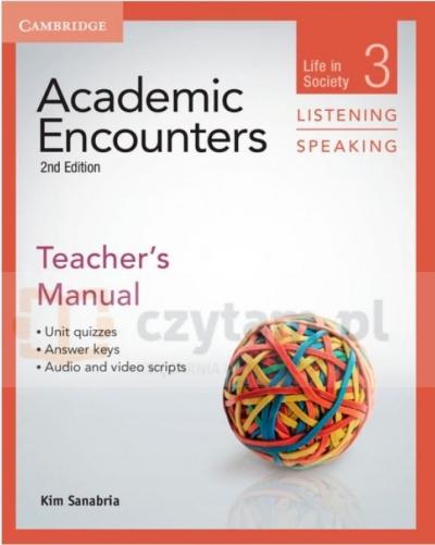 Academic Encounters 2Ed Life in Society TM Listening Bernard Seal, Kim Sanabria