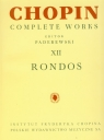 Chopin Complete Works XII Rondos