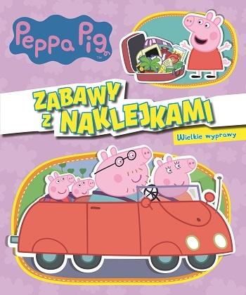 Peppa Pig. Zabawy z naklejkami. Wielkie wyprawy (Uszkodzona okładka) opracowanie zbiorowe