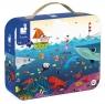 Puzzle w walizce - Podwodny świat, 100 elementów (J02947) Wiek: 6+