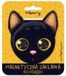 Zakładka magnetyczna - Kotek czarny