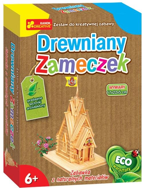 Drewniany zameczek