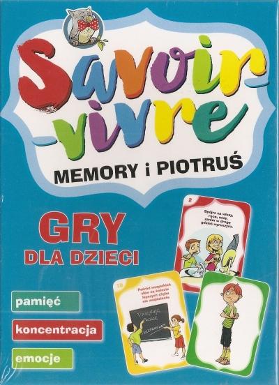 Savoir-vivre gra memory