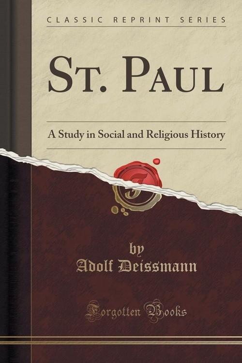 St. Paul Deissmann Adolf