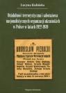 Działalność terrorystyczna i sabotażowa nacjonalistycznych organizacji ukraińskich w Polsce w latach 1922-1939