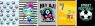 Zeszyt A5 Economy w kratkę 32 kartki 10 sztuk mix