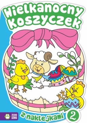 Wielkanocne kolorowanki - Wielkanocny koszyczek 2 Praca zbiorowa
