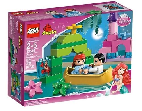 Lego Duplo Magiczna łódka Arielki  (10516)