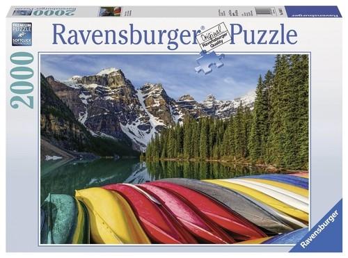Puzzle Górskie kajaki 2000 elementów (166473)