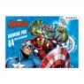 Blok rysunkowy A4/20k biały Avengers 357142
