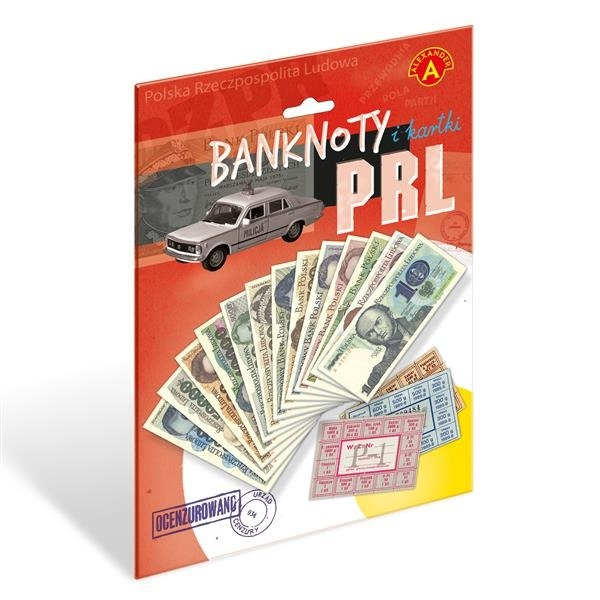 Banknoty i kartki PRL (0747) (Uszkodzone opakowanie)