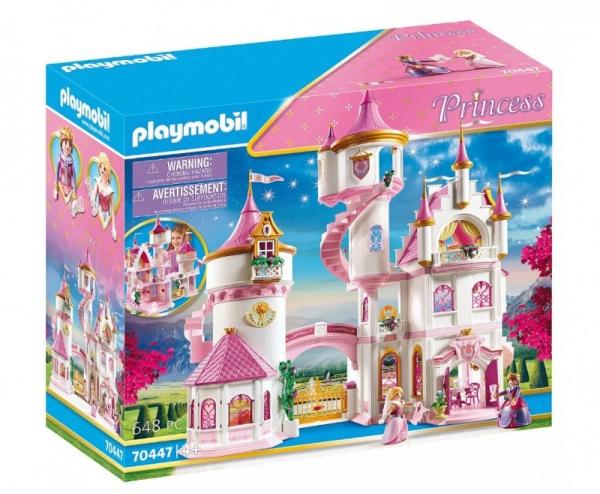 Zestaw z figurkami Princess 70447 Duży zamek księżniczek (70447)
