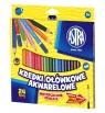 Kredki ołówkowe akwarelowe Astra, 24 kolory (312110005)