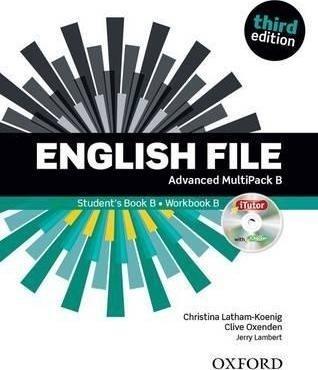 English File 3E Advanced Multipack B + iTutor Christina Latham-Koenig, Clive Oxenden