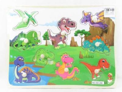Układanka Adar drewniana dinozaury (BPUZ6474)