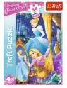 Puzzle 54 mini: Przygody księżniczek 4