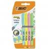 Zakreślacze Highlighter Grip, 4 kolory - pastelowe