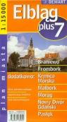 Elbląg plus 7 - plan miasta