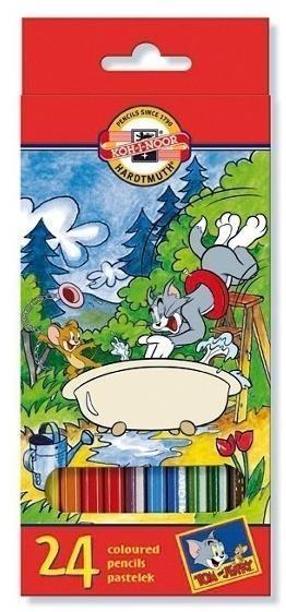 Kredki 24 kolory 3654 Tom & Jerry