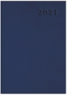 Kalendarz 2021 książkowy A5 Standard WTV granatowy