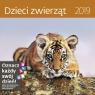 Kalendarz wieloplanszowy Dzieci zwierząt 30x30 2019
