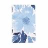 Kalendarz kieszonkowy A6 2021 - Niebieski kwiat