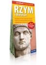 Rzym i Watykan 2 w 1 przewodnik i mapa laminowana