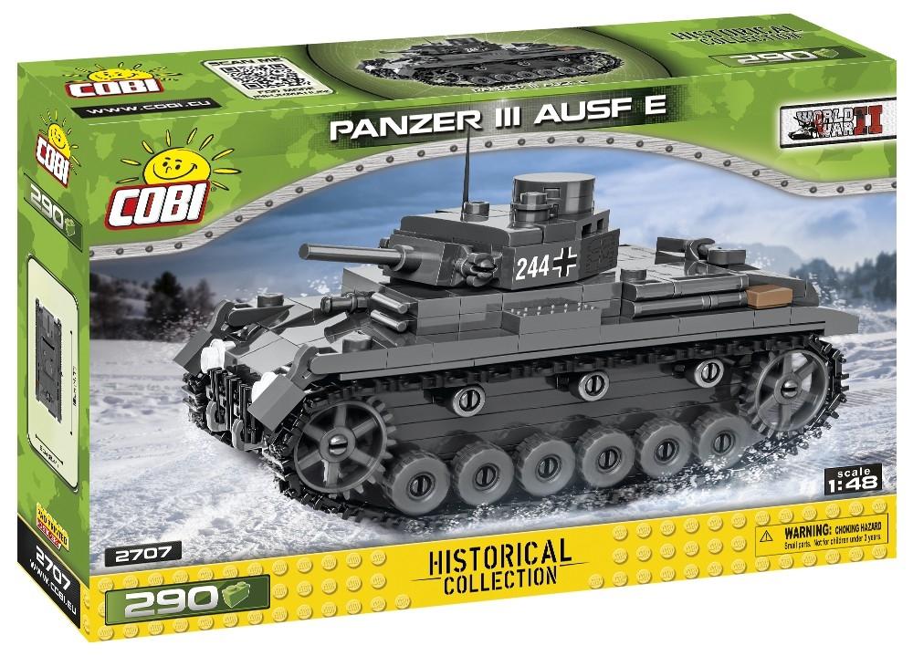 Cobi: Historical Collection. World War II - Panzer III Ausf. E (2707)