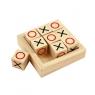 Mini kółko i krzyżyk drewniany (BJ947)