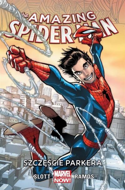 Amazing Spider-Man Tom 1 Szczęście Parkera Slott Dan, Ramos humberto