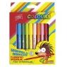 Flamastry spieralne 12 kolorów