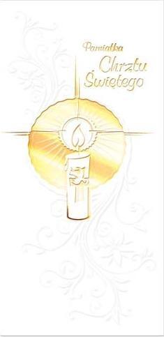 Pamiątka Chrztu Świętego BB0108