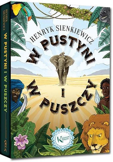 W pustyni i w puszczy (Uszkodzona okładka) Henryk Sienkiewicz