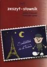 Zeszyt A5 Słownik polsko-francuski francusko-polski  w kratkę 60 kartek