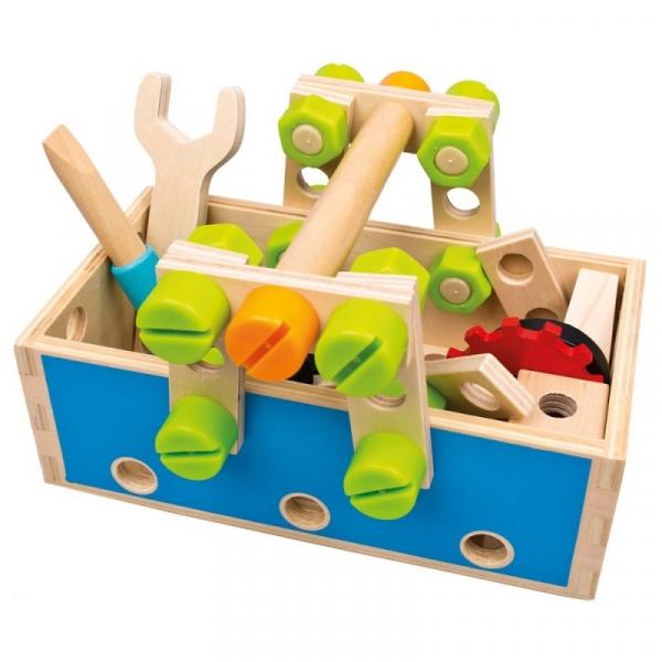 Drewniana skrzynka z narzędziami (82147)