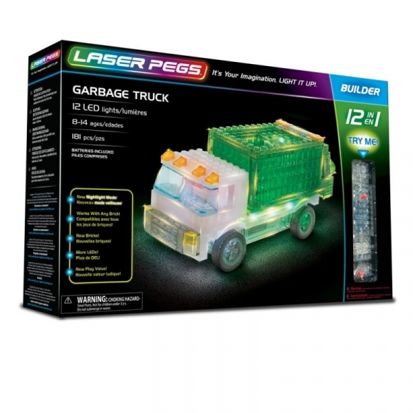 12 in 1 Garbage Truck (12013)