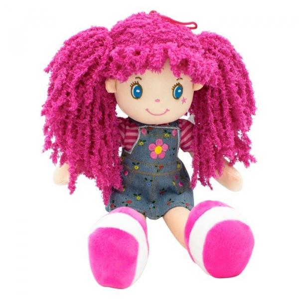 Lalka Basia różowe włosy 35 cm (5084a)