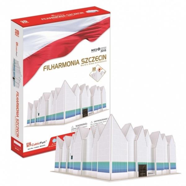 Puzzle 3D Filharmonia Szczecin 98 elementów