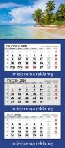 Kalendarz 2020 trójdzielny Parma Bogna