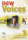 New Voices 3 Zeszyt ćwiczeń z płytą CD
