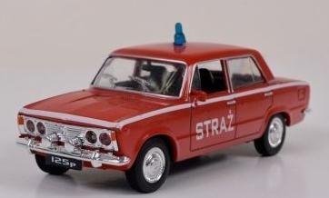 Kolekcja PRL-u Fiat 125P Straż