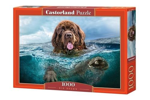 Puzzle Big Brown 1000