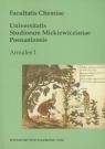 Facultatis Chemiae Universitatis Studiorum Mickiewiczianae Posnaniensis