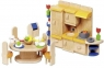 Kuchnia z jadalnią do domku dla lalek (GOKI-51747)