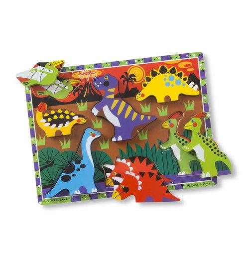 Układanka drewniana Dinozaury